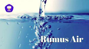 RUMUS AIR